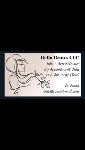 BELLA BROWS, LLC logo