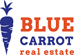 BLUE CARROT REAL ESTATE logo