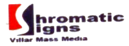 CHROMATIC SIGNS VILLAR MASS MEDIA logo