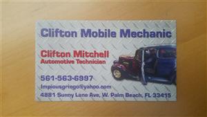 CLIFTON MOBILE MECHANIC LLC logo