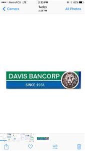 DAVIS BANCORP, INC. logo
