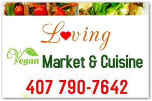 LOVING VEGAN MARKET & CUISINE, LLC logo