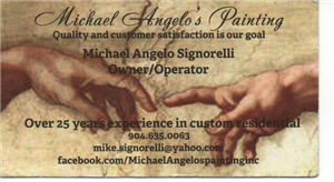 MICHAEL ANGELO'S PAINTING INC logo