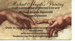 MICHAEL ANGELO'S PAINTING INC logo