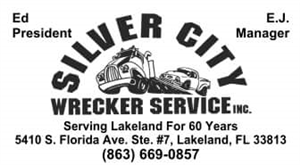 SILVER CITY WRECKER SERVICE, INC. logo