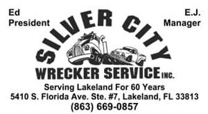 SILVER CITY WRECKER SERVICE, INC. logo